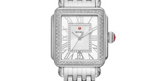 Michele Deco Madison Stainless Steel Diamond Watch MWW06T000163