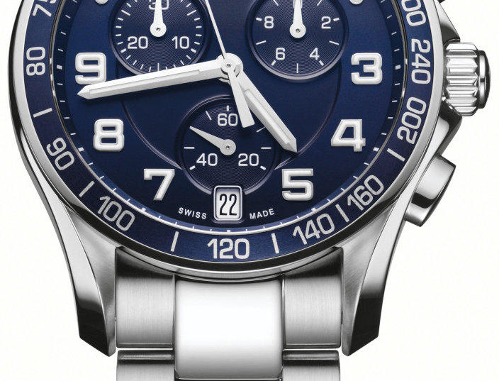 Victorinox Swiss Army Chrono Classic Blue Dial Watch 241497