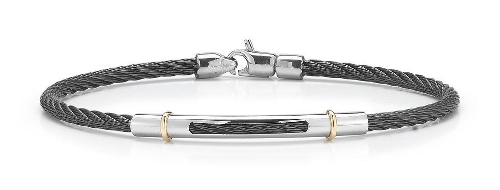 Alor Black Cable Bracelet Ref. 04-92-7483-00