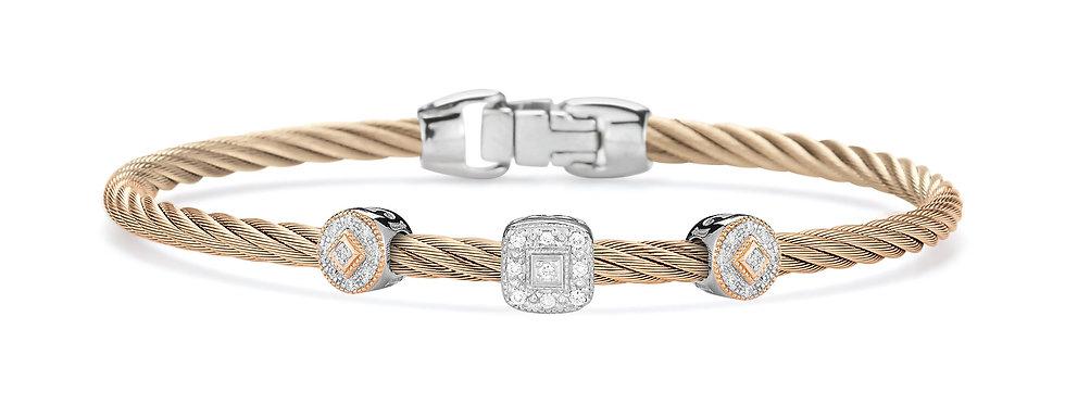 Alor Carnation Cable Essential Stackable Bracelet Ref. 04-25-S921-11