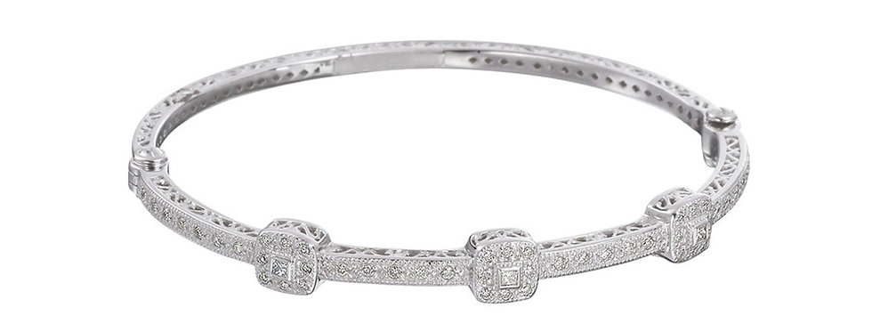 Alor 18k White Gold Bracelet Ref 04-08-0934-11