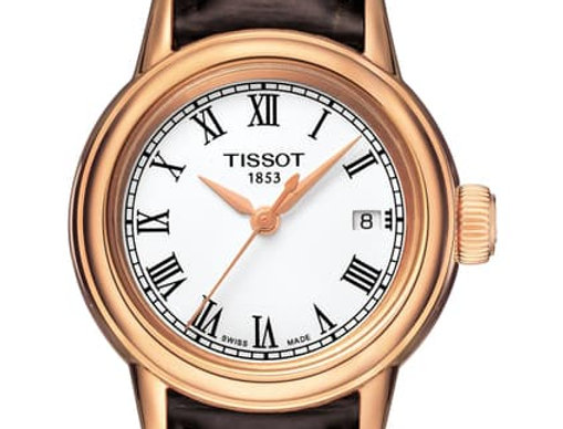 Tissot Carson Leather Strap Ladies Watch Ref. T085.210.36.013.00