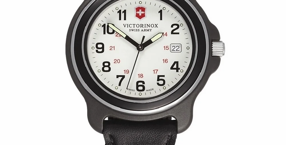 Victorinox Swiss Army Original Large White Dial Nylon Strap Watch 249089