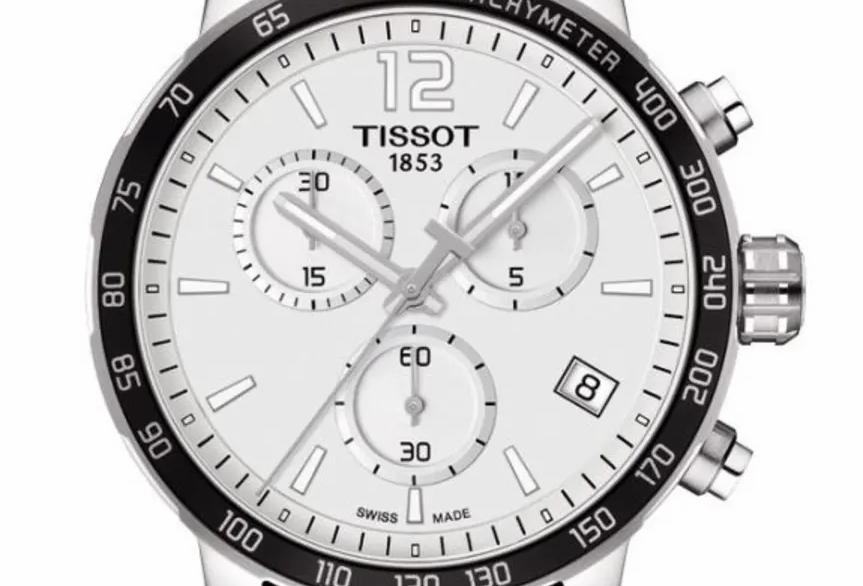 Tissot Quickster San Antonio Spurs Men's Watch Ref. T095.417.17.037.07