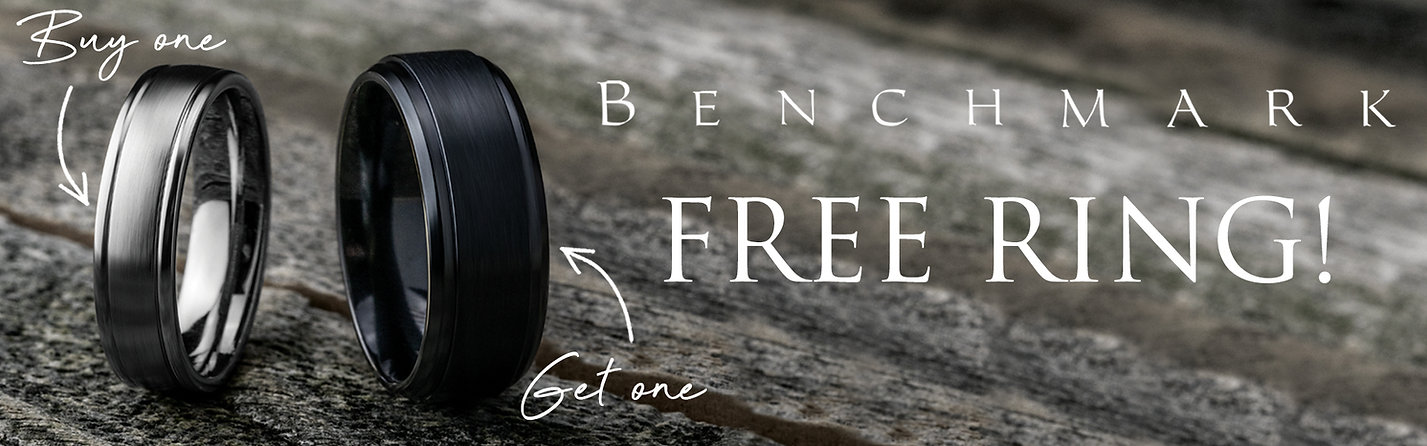 Buy 1, Get 1 Benchmark Free Ring located at Mamari Jewelers