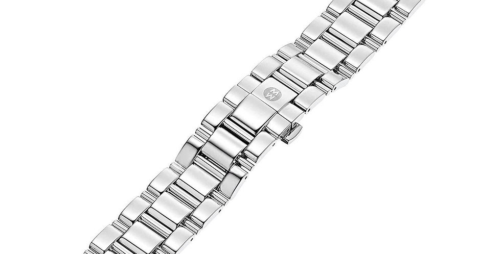 Michele 18mm Diamond Stainless Steel Bracelet MS18CW235009
