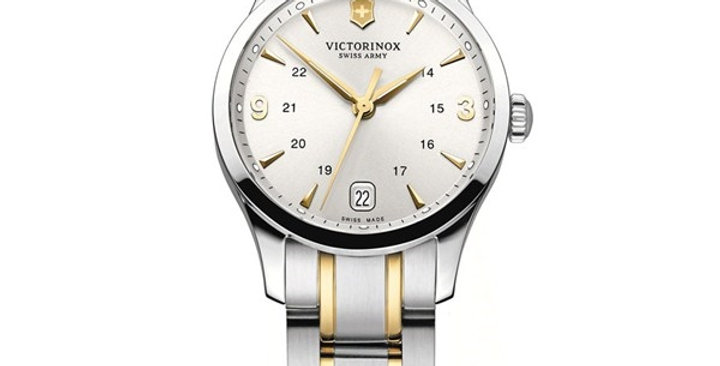 Victorinox Swiss Army Alliance Small Two Tone Stainless Steel Watch 241543