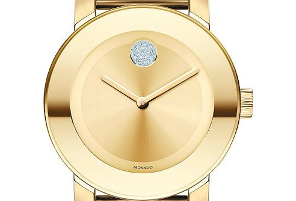 MOVADO BOLD MEDIUM GOLD Ref. 3600104