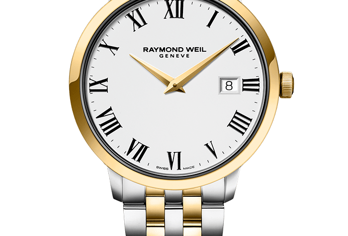 Raymond Weil Toccata Classic Two Tone Steel Men's Quartz Watch 5488-STP-00300