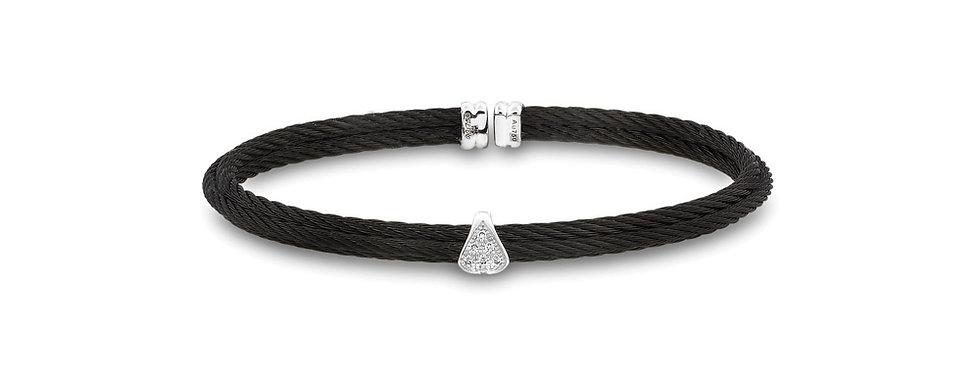 Alor Black Cable Stackable Bracelet Ref. 04-52-0416-11