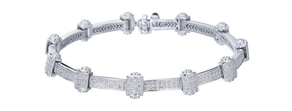 Alor 18K White Gold Bracelet 06-08-0831-11