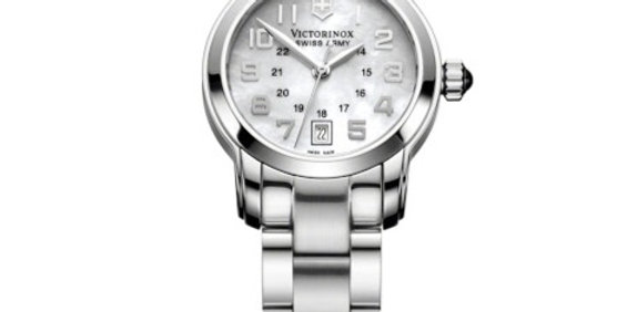 Victorinox Swiss Army Vivante MOP White Stainless Steel Watch 241055