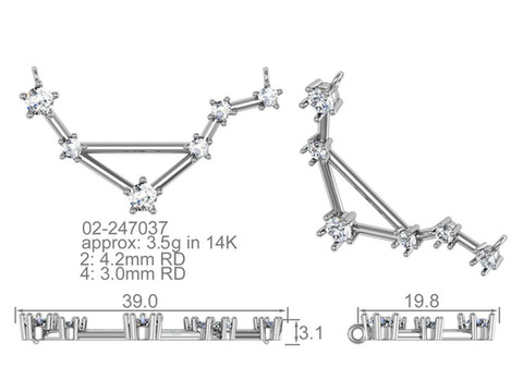 Constellation Pendant