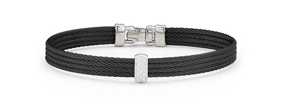 Black Cable Barred Bracelet Ref. 04-52-0511-11