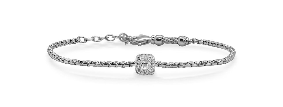 Grey Chain Expressions Bracelet with Ref. 06-32-1004-11