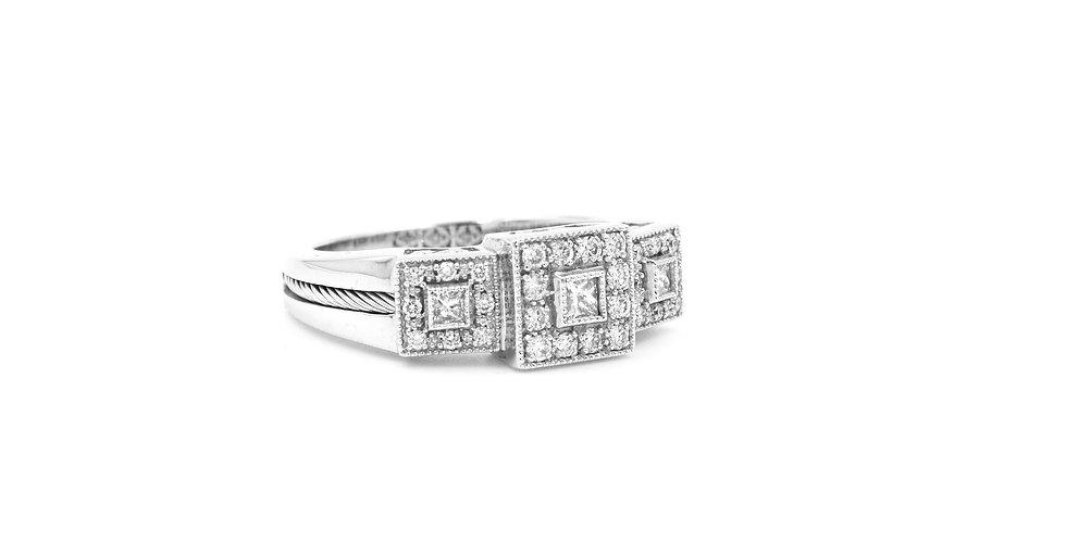 Alor Three Section Diamond Ring Ref. 02-08-9534-11