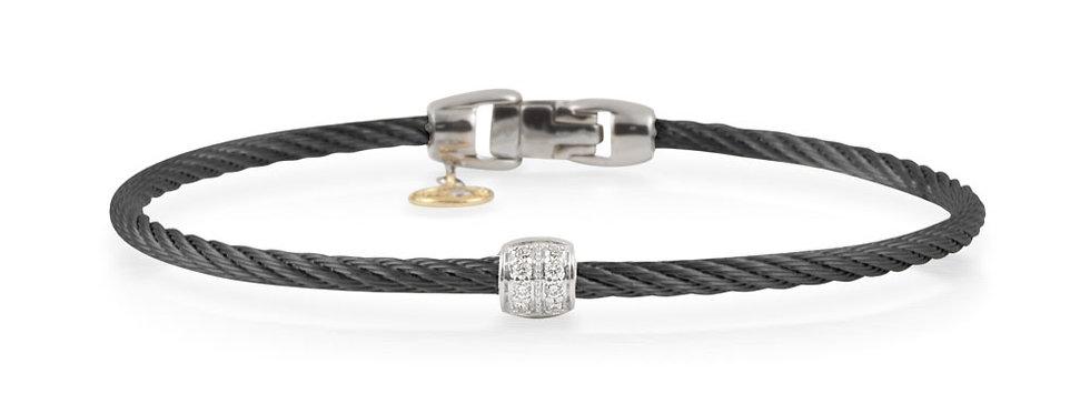 Alor Classique Black PVD Stainless Steel Cable Bracelet 04-52-0917-11