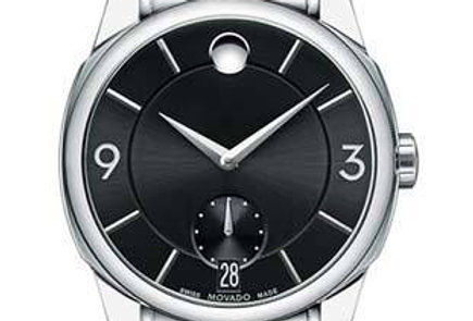 Movado LX Black Stainless Steel Men's Watch 0606626