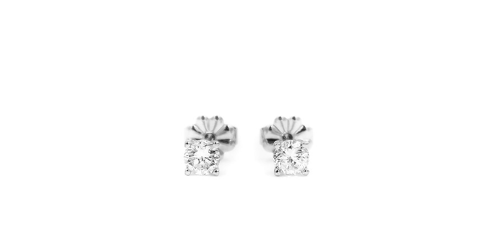 Classic Diamond Basket Studs