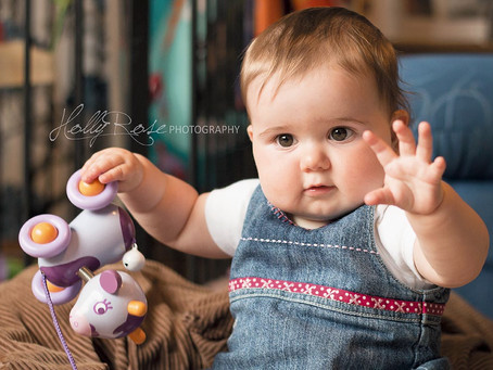 Erin - 9 month session | Scunthorpe milestones Photoshoot | Scunthorpe Children's Photographer