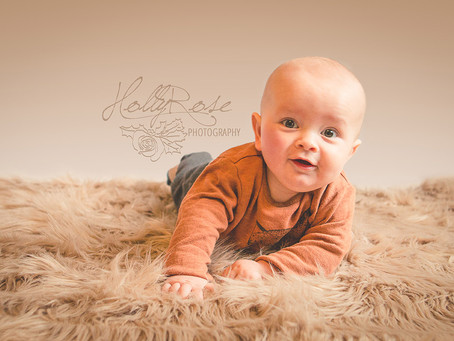 Morgan - 6 month milestone | Retford Watch Me Grow Photoshoot | Retford Baby Photographer