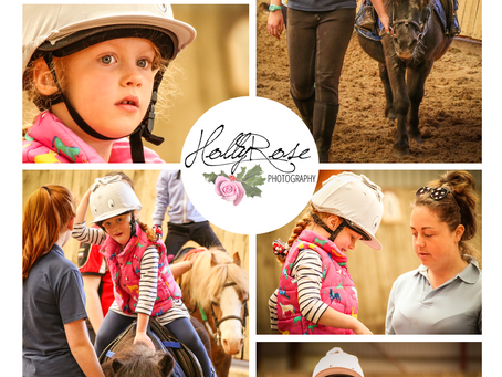 Emily's First Riding Lesson | Misterton Children's Photoshoot | Doncaster Childrens Photography