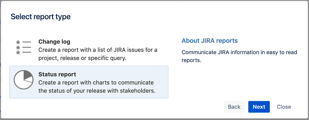 Create a Jira Status Report in Confluence
