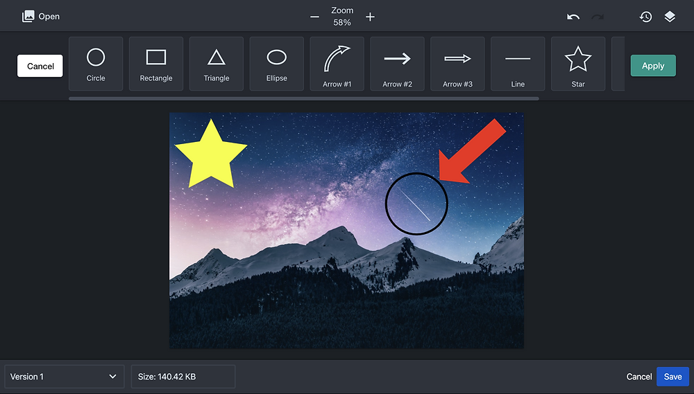Add shapes to imagines in Sketch for Confluence