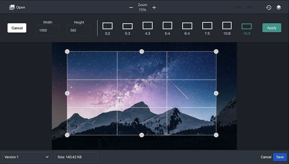 Crop Confluence Images with Sketch