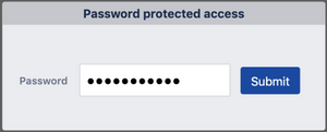 protect Jira issue access with passwords