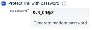 protect Confluence pages access with passwords