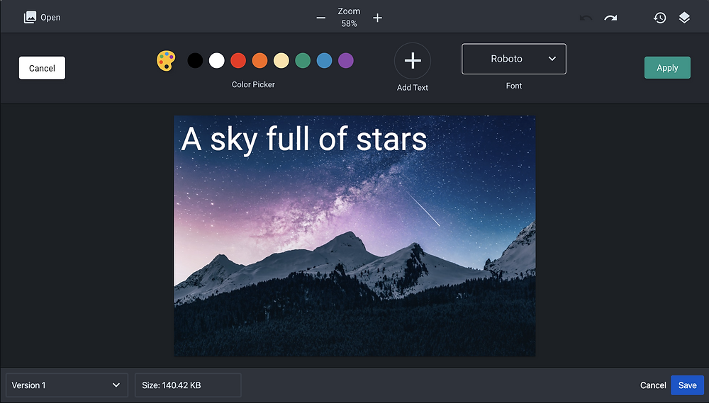 Annotate images with text in Confluence with Sketch