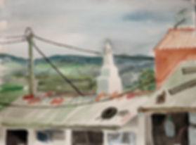Kalle Andersson, Karl Andersson, Kallebild, Konstnär, Artist, Bildkonstnär, Painter, Målare, Skulptör, Sculptor, Svensk konstnär, Swedish artist, Västkust målare, West Coast painter, Uddevalla, Bohuslän, Eriksberg,  målning, painting, konstverk, artwork, kolorist, colorist, porträtt. portrait, konst, art,   Naturskildrare, Natural portrayer, akvarellmålning, watercolor painting, landskapsmålning, landscape painting, Bem-vindo a Portugal,