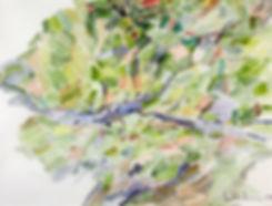 Kalle Andersson, Karl Andersson, Kallebild, Konstnär, Artist, Bildkonstnär, Painter, Målare, Skulptör, Sculptor, Svensk konstnär, Swedish artist, Västkust målare, West Coast painter, Uddevalla, Bohuslän, Eriksberg,  målning, painting, konstverk, artwork, kolorist, colorist, porträtt. portrait, konst, art,   Naturskildrare, Natural portrayer, akvarellmålning, watercolor painting, landskapsmålning, landscape painting, Odlingslanskap, Cultivated landcape,