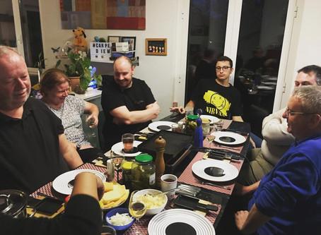 Plongée Gourmande: Raclette des 50 ans...