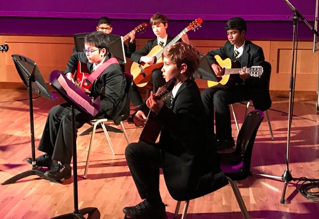 Guitar Ensemble Winter Concert 2020