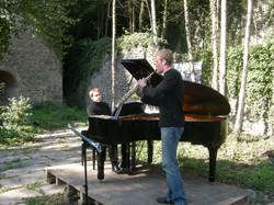 Simon Diricq et Flavien Casaccio