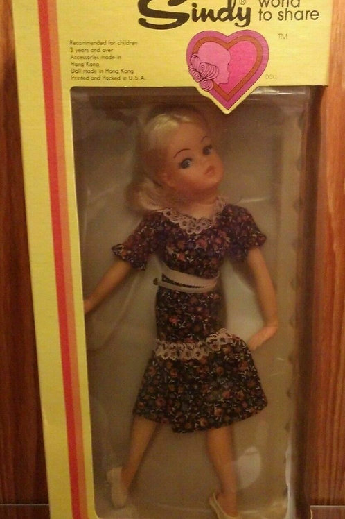 Rare Vintage 1978 Marx Toys Sindy Doll New MIB