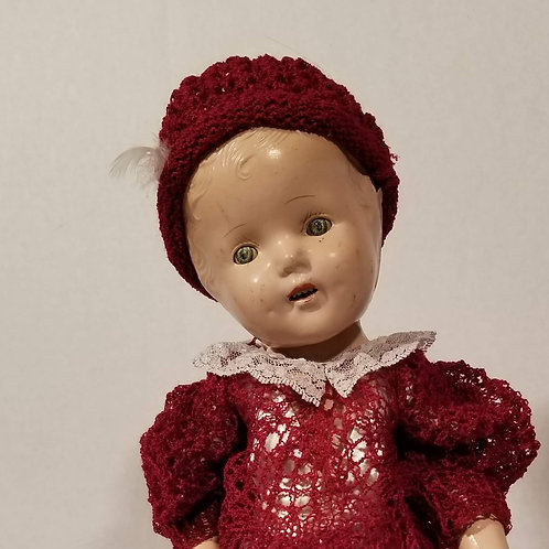 19th Century Composition Doll