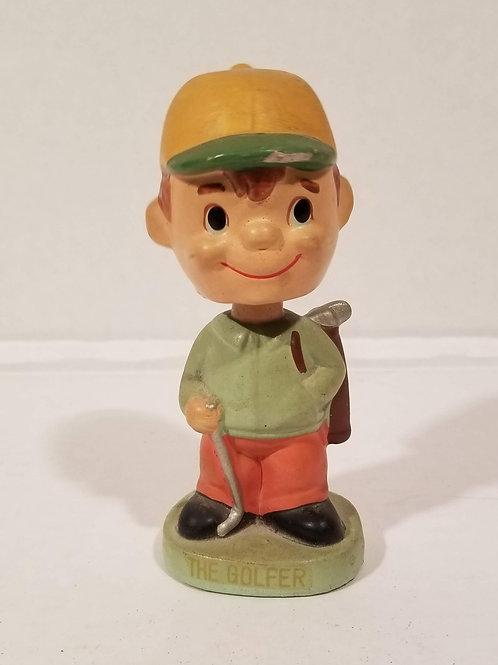 Vintage 1960's Bobblehead Golfer