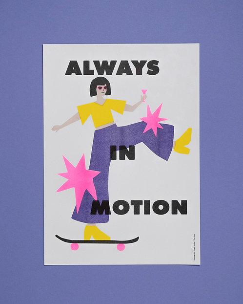 Always in Motion Skategirl