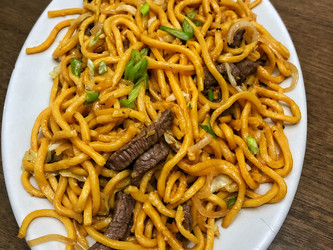 Flavorful and Fast Chow Mein