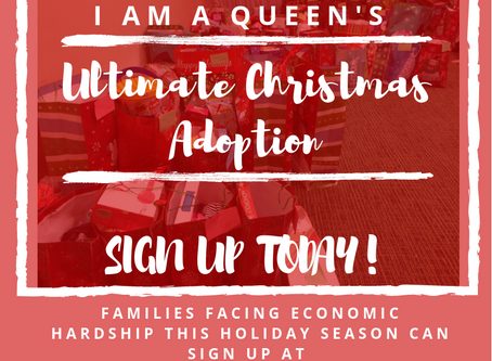SIGN UP TODAY for I Am A Queen's Ultimate Christmas Adoption
