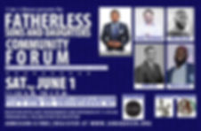 Flyer - 2019 Fathereless Sons and Daught