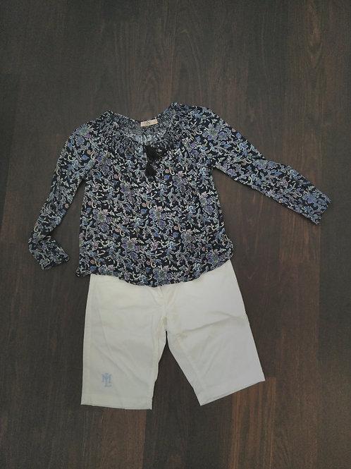 Bluse Paisley S & W Fashion