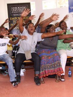 Goalmouth! in Botswana