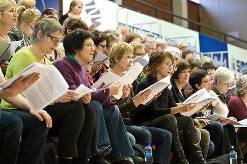 Stavanger chorus singing.jpg