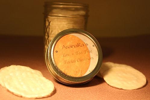 AsanaRa's Lavender and Tea Tree Facial Cleansers