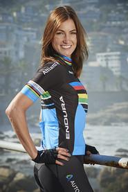 Para-Olympionikin und  Profi-Radsportlerin Denise Schindler moderiert die Charity-Gala