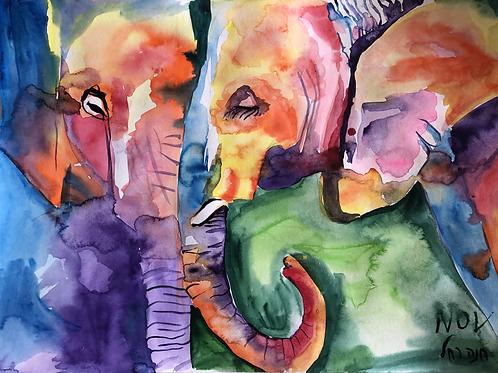 Come Close, Elephant